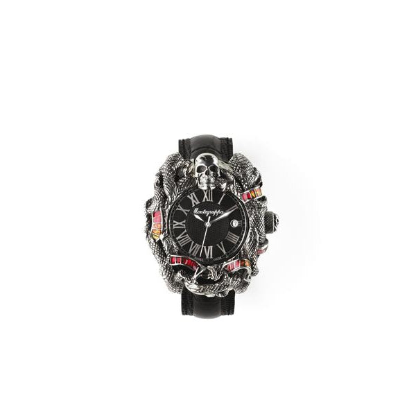 Chaos Watch - Silver with Enamel