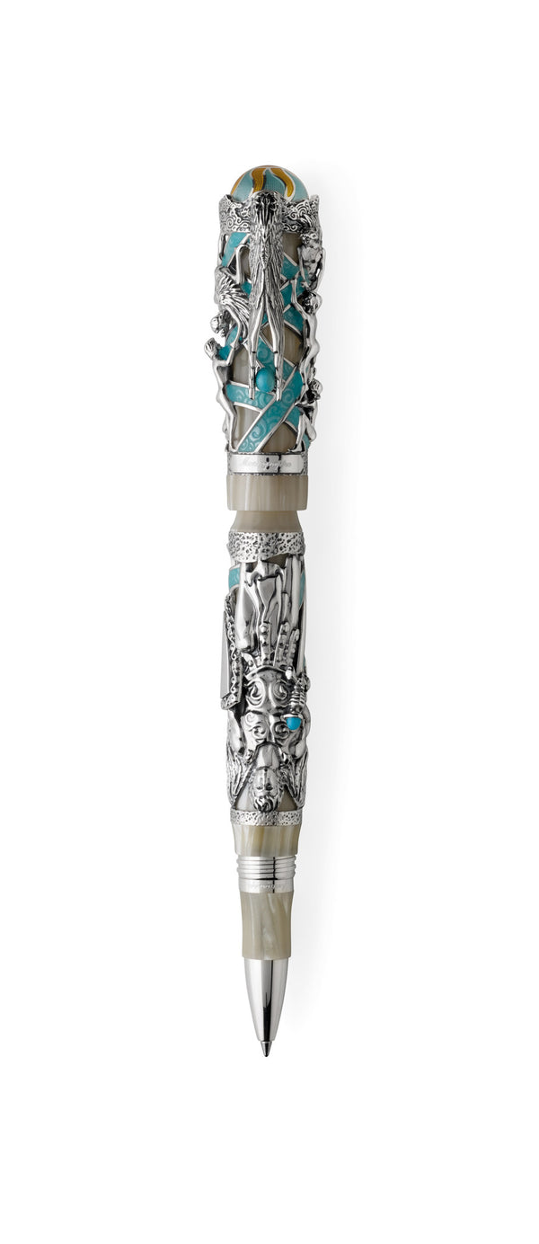 My Guardian Angel Rollerball Pen - Silver
