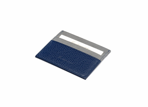 Credit Card Case 3+3 CC - Blue & Grey