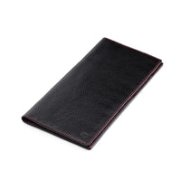 Travel Documents Case - Black & Red