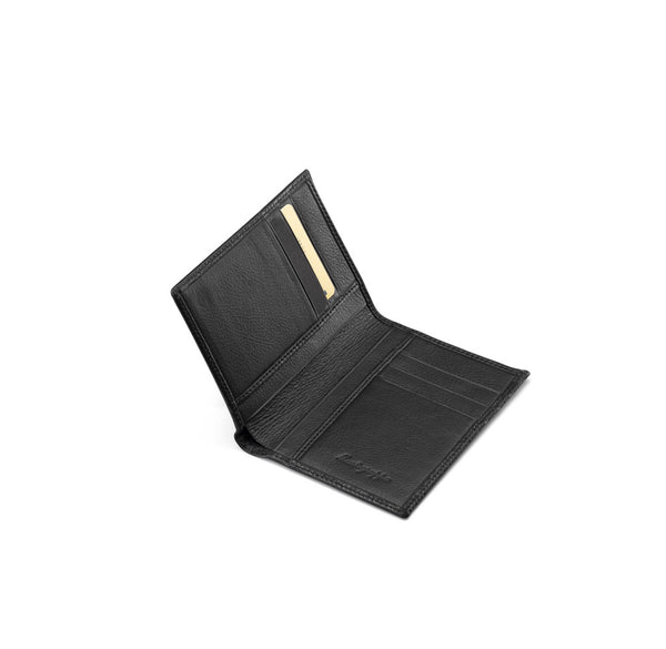 Vertical Wallet 3+3 CC - Black