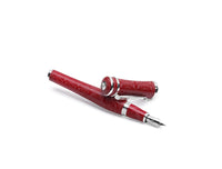 Sophia Loren Fountain Pen, Silver (Red)