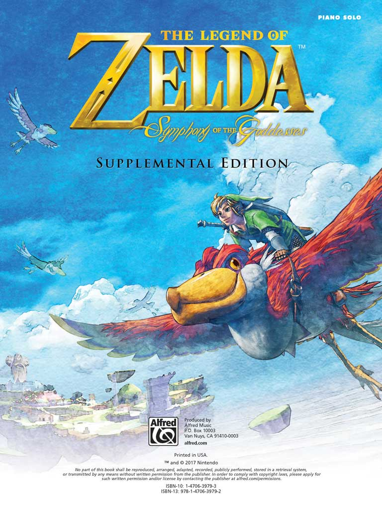 Piano Book - Symphony of Goddesses Supplemental Edition – Zelda
