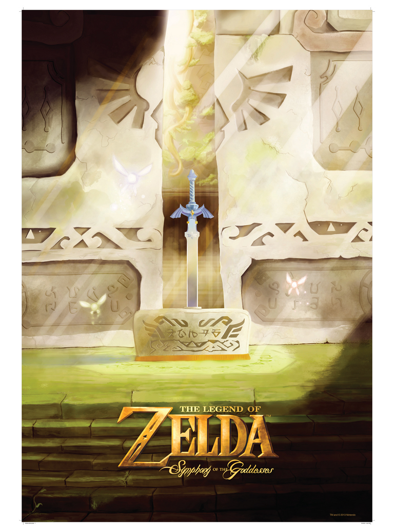 Poster - Master Sword