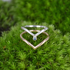 pisces ring : MT sapphire