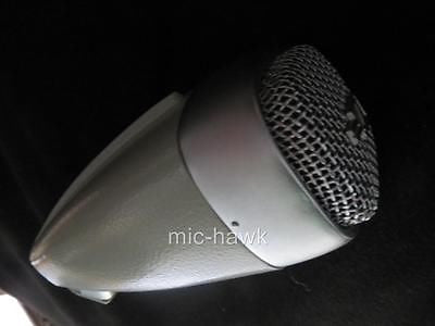 SENNHEISER MD21 VINTAGE OMNIDIRECTIONAL DYNAMIC MICROPHONE W/XLR ADAPTER CABLE