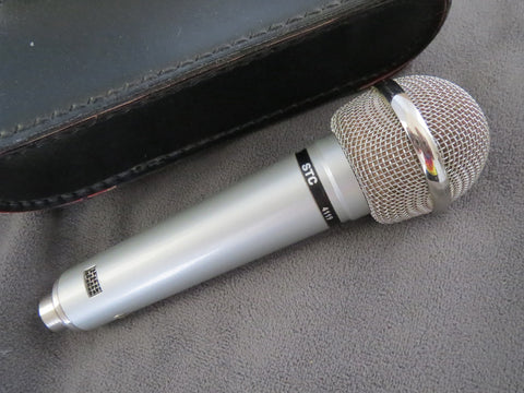 STC/COLES 4119 VINTAGE DOUBLE RIBBON MICROPHONE WITH XLR CABLE