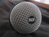 RCF MD2702 VINTAGE ITALIAN CARDIOID DYNAMIC MICROPHONE WITH XLR CABLE
