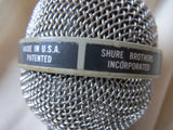 SHURE UNISPHERE A PE585 VINTAGE CARDIOID DYNAMIC MICROPHONE