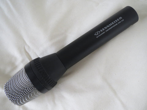 SENNHEISER MD43 CARDIOID DYNAMIC MICROPHONE WITH XLR CONNECTOR