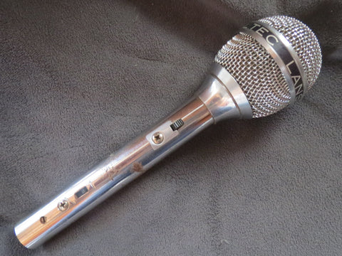 ALTEC LANSING 650B RARE VINTAGE CARDIOID DYNAMIC MICROPHONE WITH XLR CONNECTOR
