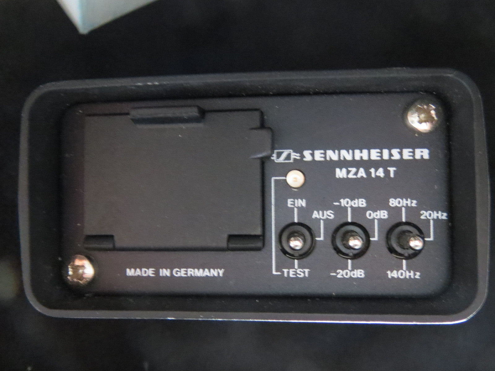 SENNHEISER MZA14 T-POWER SUPPLY MKH406/415/416/816/435+NEUMANN KM74/76/77+OTHERS