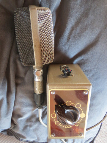 AKG D36 VINTAGE DYNAMIC MULTIPATTERN MICROPHONE W/S36 PATTERN BOX, D12 CAPSULES