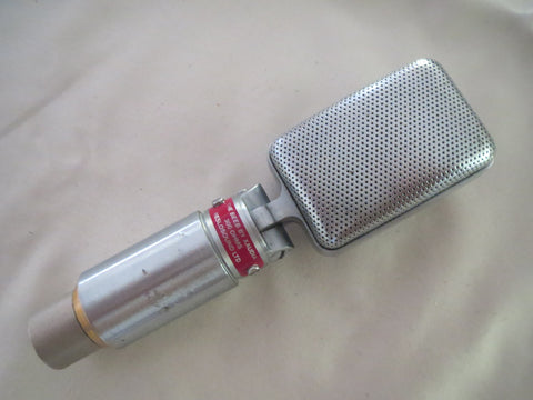 RESLO/XAUDIA 'THE BEEB' VINTAGE BRITISH RIBBON MICROPHONE, UPGRADED TO BBC SPECS