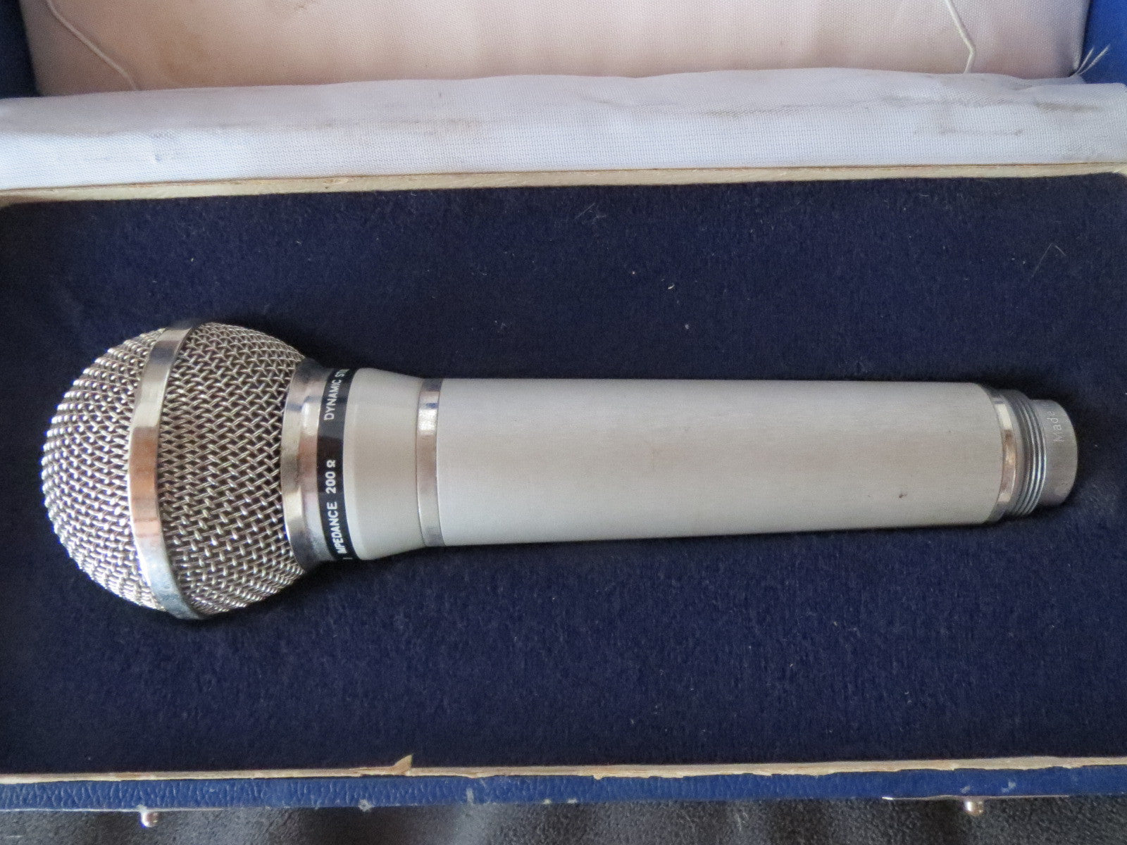 FUNKBERATER PGH BERLIN SM2030-L VINTAGE DYNAMIC CARDIOID MICROPHONE W/XLR CABLE