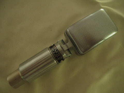 RESLO BLACK LABEL VINTAGE BRITISH RIBBON MICROPHONE WITH XLR CONNECTOR