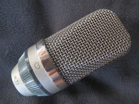 NEUMANN GEFELL/RFT M71 LARGE DIAPHRAGM CARDIOID MICROPHONE CAPSULE FOR MV691/692