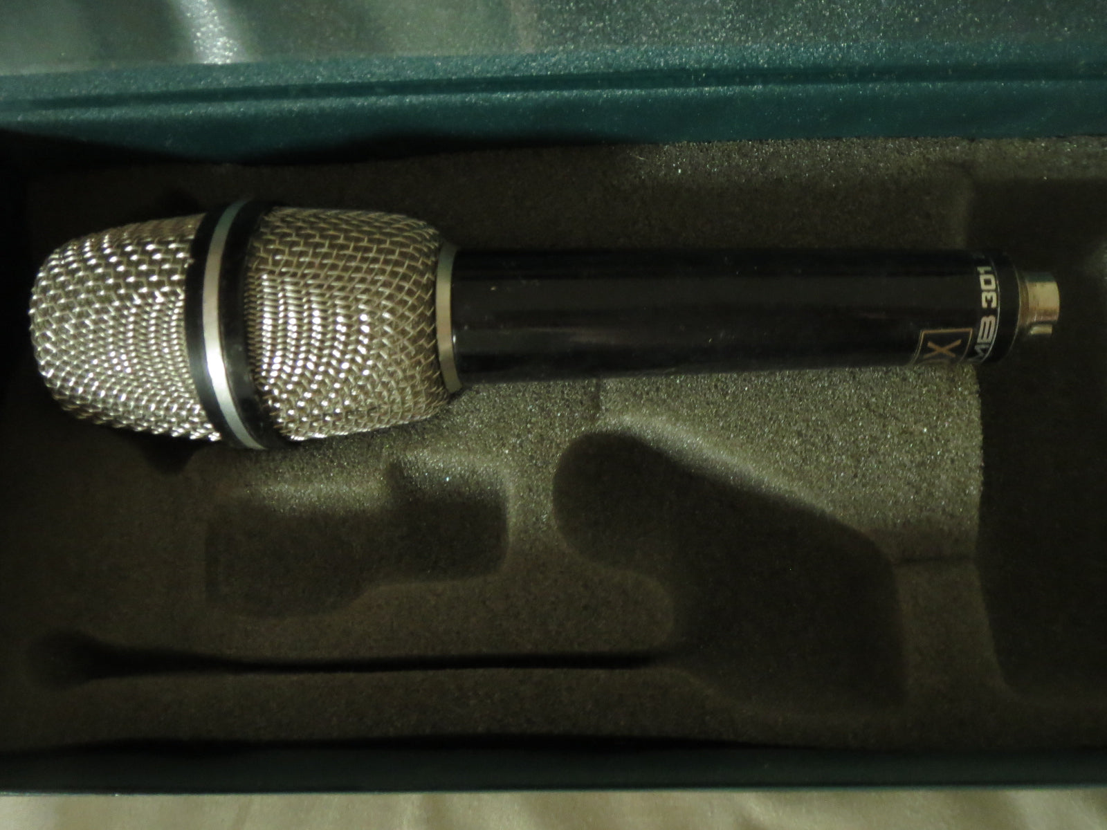 MBHO/HAUN MB301 VINTAGE GERMAN MIC W/XLR CABLE, NEW RCA STEPHEN SANK RIBBON