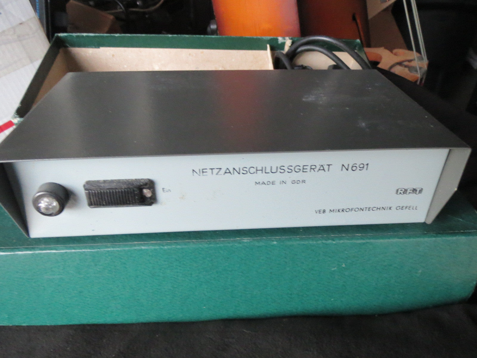 RFT/NEUMANN GEFELL N691 DUAL POWER SUPPLY FOR VINTAGE MV691/692/PM750/860 MICS