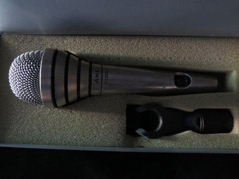 AKG D330BT VINTAGE DYNAMIC CARDIOID MICROPHONE WITH BASS/TREBLE CONTROLS, XLR