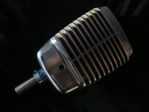 SHURE MODEL 51 'SONODYNE' VINTAGE OMNIDIRECTIONAL DYNAMIC MIC WITH XLR CONNECTOR
