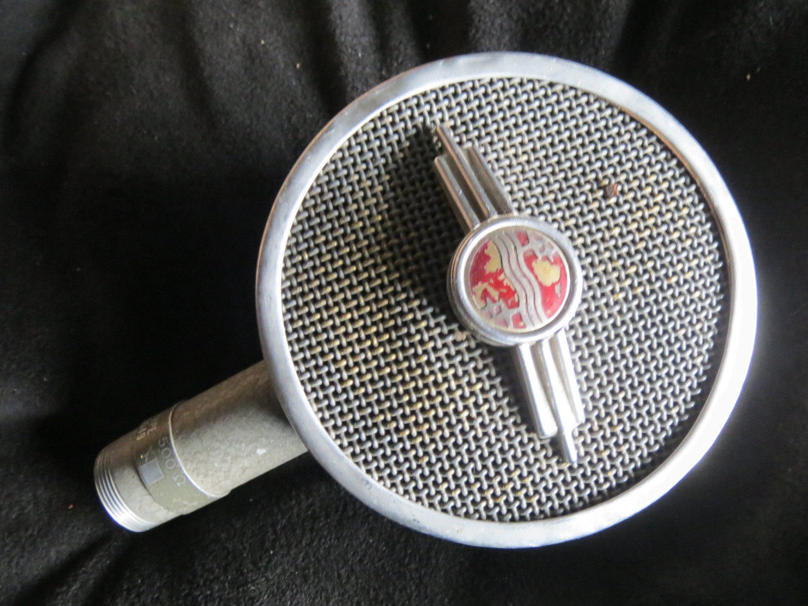 PHILIPS 9549 RARE VINTAGE CARDIOID DYNAMIC MICROPHONE INCLUDING XLR CABLE