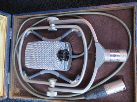 AKG D25 RARE VINTAGE DYNAMIC MICROPHONE WITH XLR CABLE, SAME CAPSULE AS D12/D20