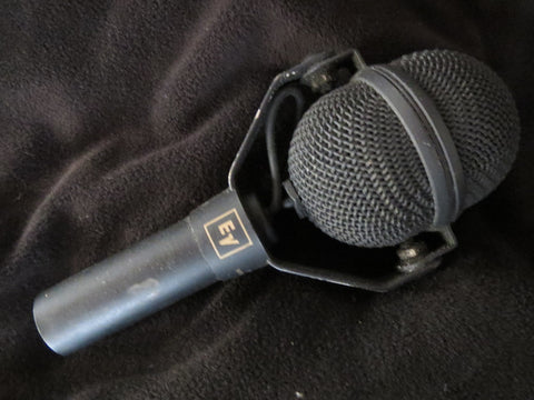 EV ELECTROVOICE N/D408B VINTAGE SUPERCARDIOID DYNAMIC MICROPHONE