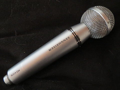 SENNHEISER MD413 VINTAGE CARDIOID DYNAMIC MICROPHONE INCLUDING XLR ADAPTER CABLE