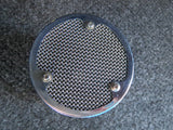 STC BBC 4021 VINTAGE 'BALL & BISCUIT' DYNAMIC MICROPHONE WITH ORIGINAL STAND