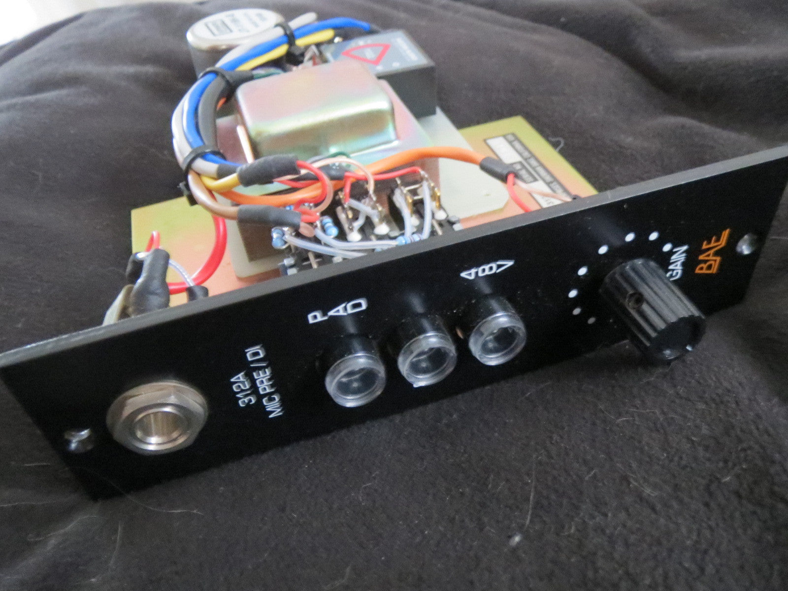 BAE 312A 500 SERIES MIC PRE-AMP MODULE W/O POWER SUPPLY