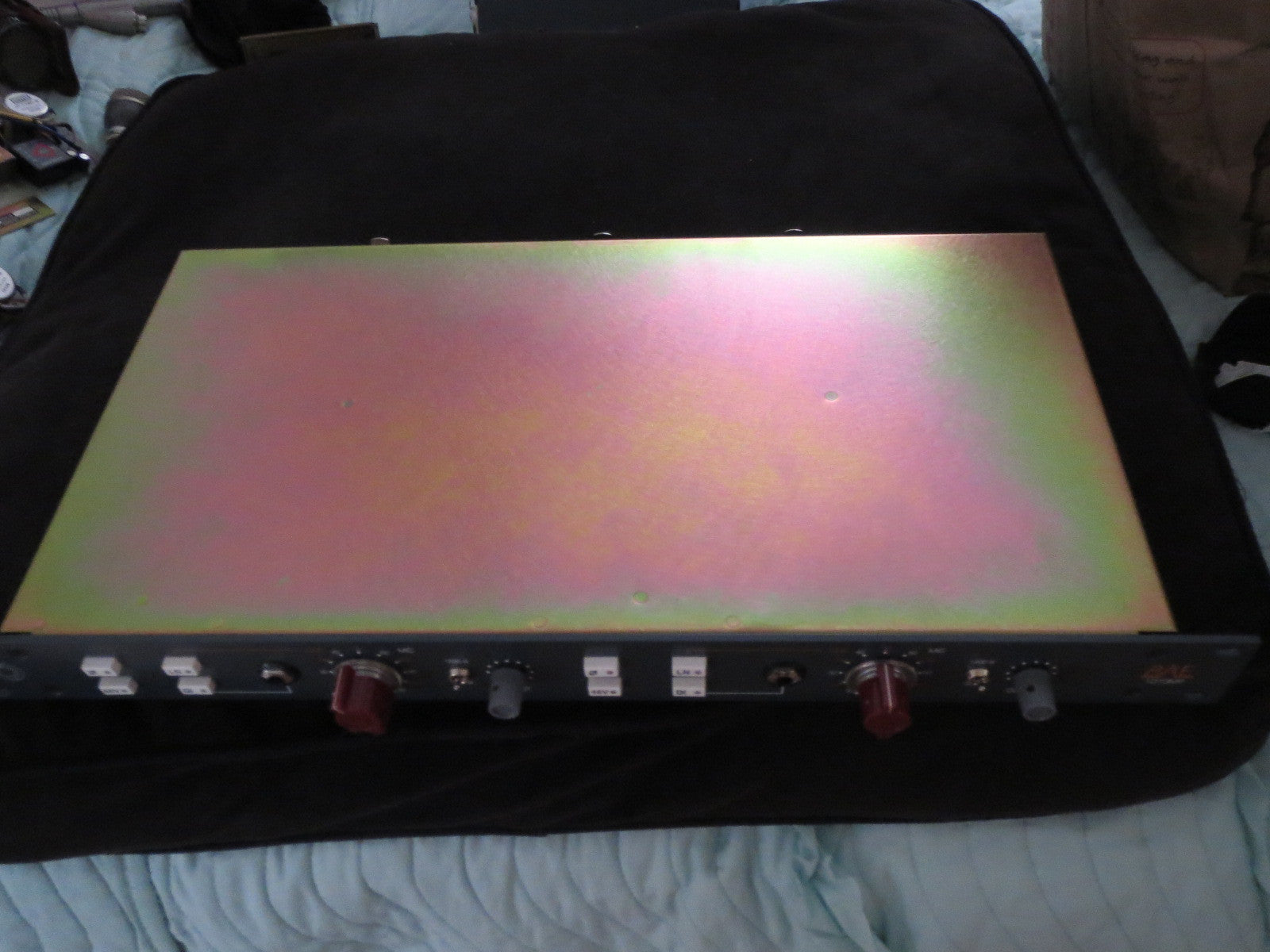 BAE 1073MP DUAL CHANNEL RACK MOUNT MIC PRE-AMP W/POWER SUPPLY