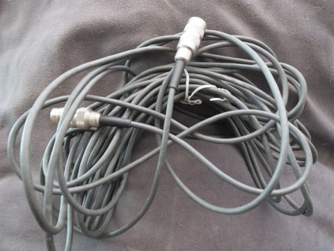 32 FT VINTAGE TUCHEL CABLE FOR USE WITH VINTAGE GERMAN MICROPHONES