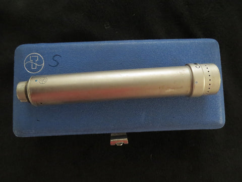 SCHOEPS M221A VINTAGE AC701 TUBE CONDENSER MICROPHONE, CARDIOID/OMNI, WITH CASE