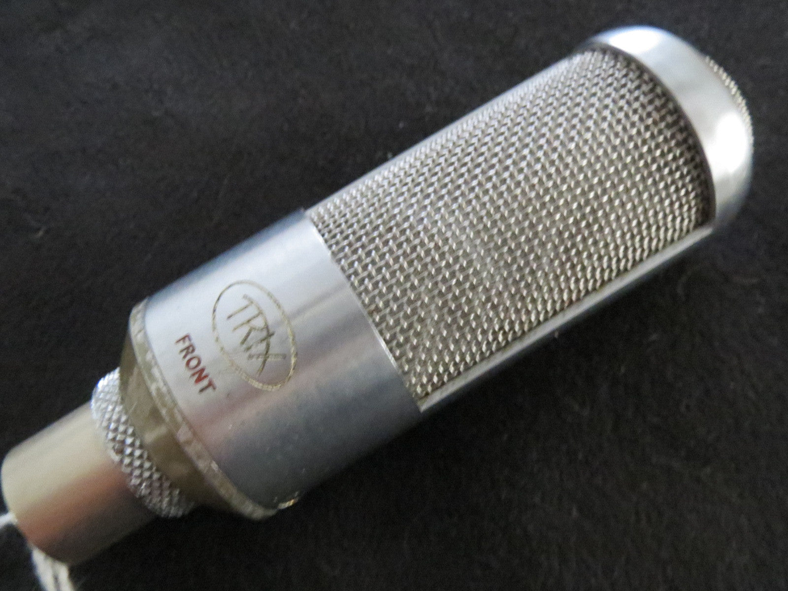 TRIX RARE VINTAGE BRITISH RIBBON MICROPHONE, updated with XLR connector