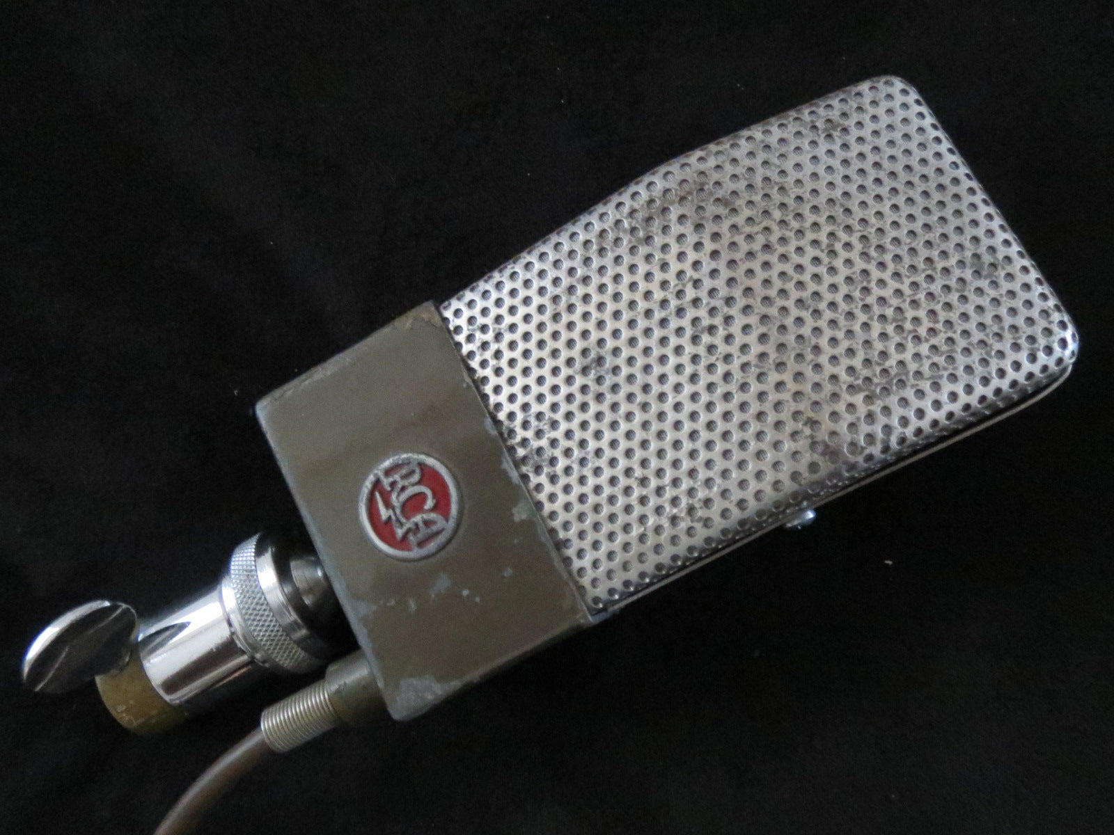 RCA 74B 'JUNIOR VELOCITY' VINTAGE RIBBON MICROPHONE, SERVICED BY STEPHEN SANK!