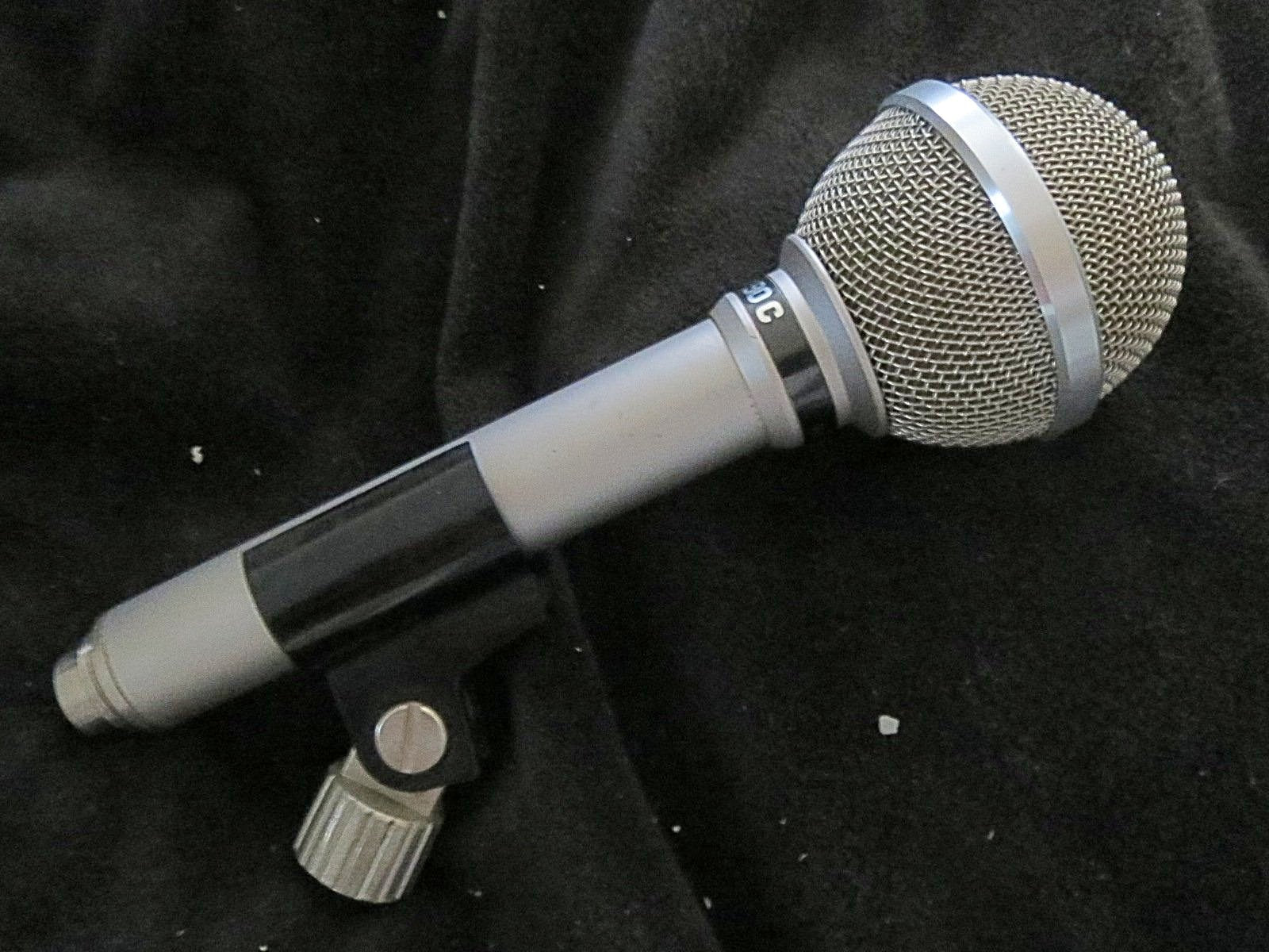 AKG D90C RARE VINTAGE DYNAMIC CARDIOID MICROPHONE WITH XLR CONNECTOR