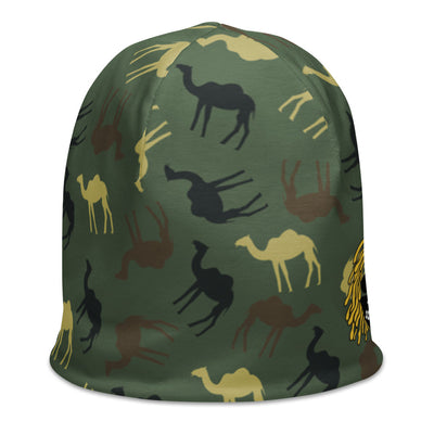 CamelFlage All Over Print Beanie