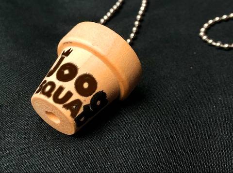 JoogSquad Little Pot Necklace (#18) 10 free stickers with order!