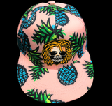 (NEW) Pink Pineapple JoogSquad Hat (The Pipe Line) | Snapback