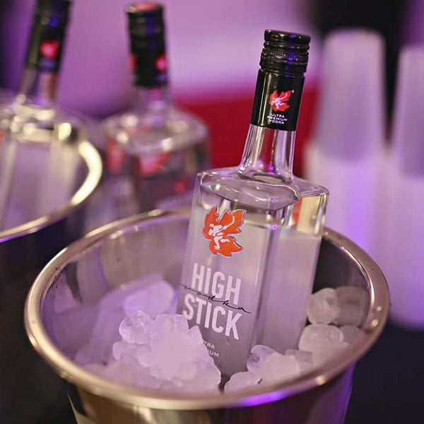 Try one of Canada's best vodkas!  High Stick Vodka is fast becoming a top selling vodka in Canada, tied to our pride of a job done well we bring you a drink that can keep up, mix and enjoy or go straight.  Our vodka is sure to impress!
