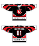 High Stick Vodka Jersey - Black