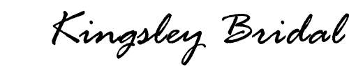 Kingsley Bridal - Tailored specifically for you