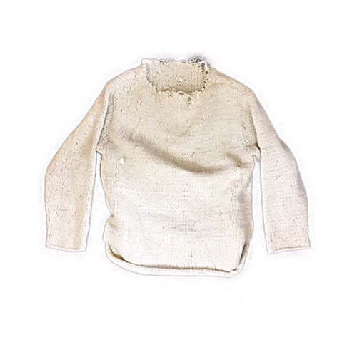 Thick Knit Distressed Sweater