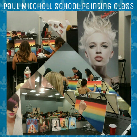 Team Building Class @ the Paul Mitchell School – Artfusion