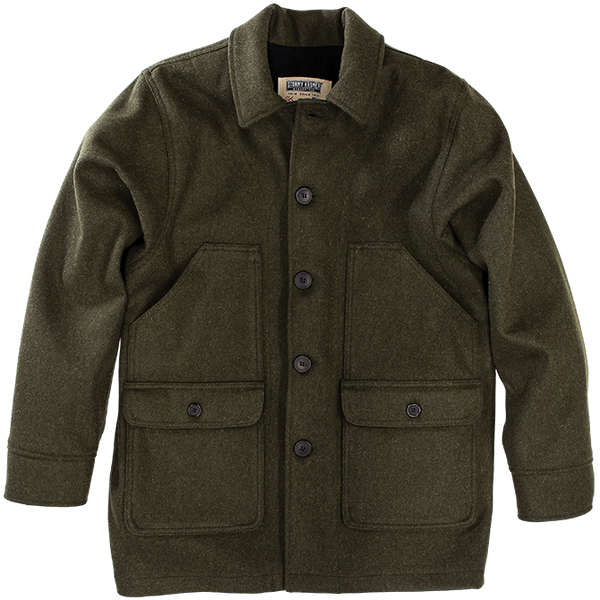 Stormy Kromer Mackinaw Coat in Olive