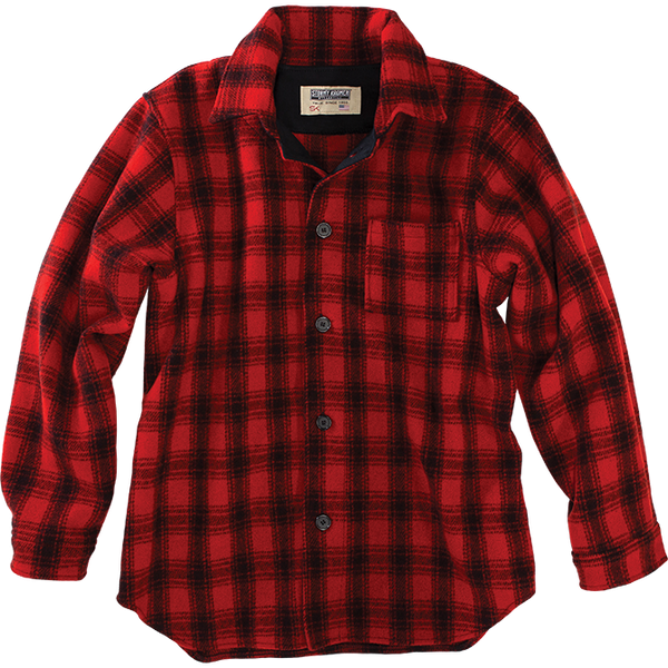 "Stormy Kromer ""Kromer Jack"" in Red Plaid"