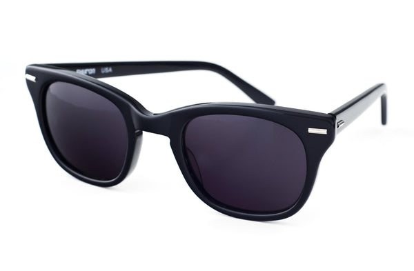 Shuron Freeway Sunglasses in Ebony