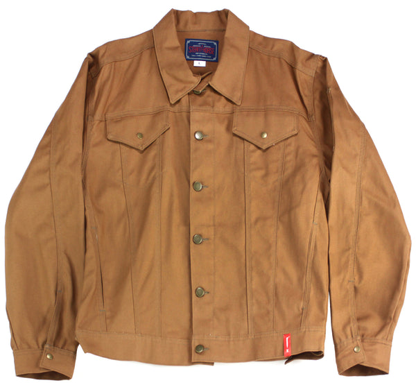 Steam Horse Dry Goods Railroad Jacket in Chestnut