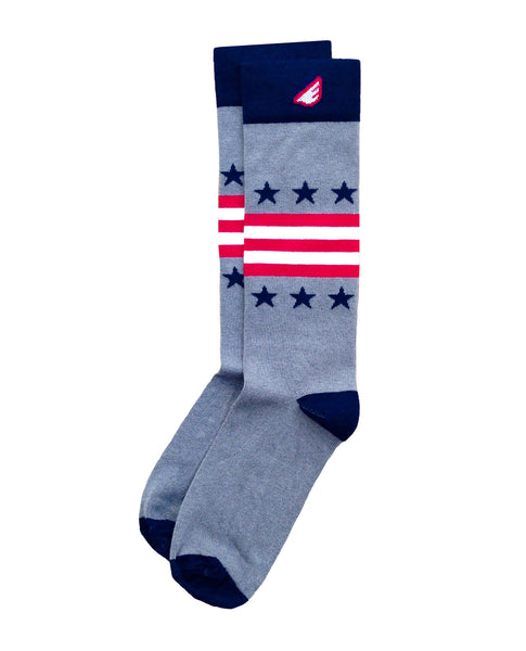 Boldfoot Statesman Sock in Light Gray